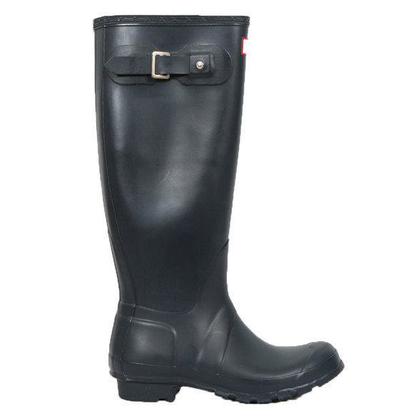 Hunter Womens Blue Original Tall Wellington