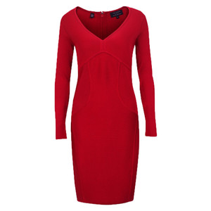 ted baler aspin long sleeve body con dress