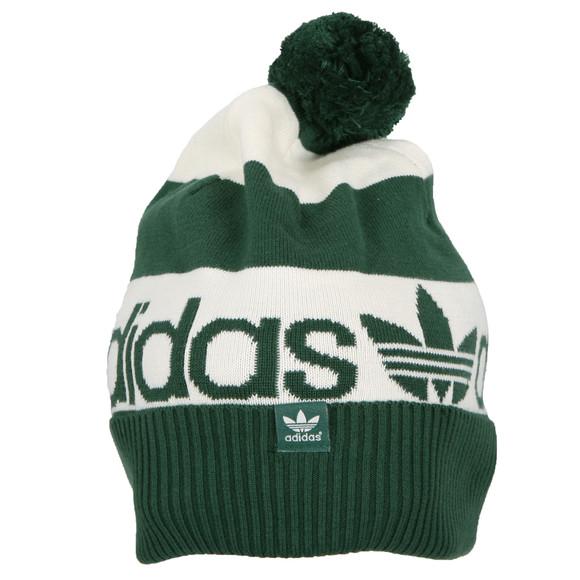 ad7bf67a9ab203 adidas Originals Mens Green Adidas Bennie B Star Hat main image