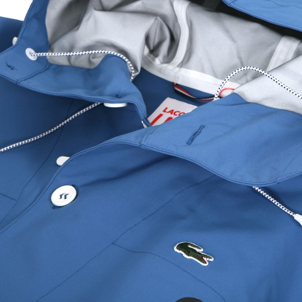 b91275afec Lacoste Live Lacoste L!ve Hooded Jacket | Oxygen Clothing