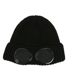 C.P. Company Mens Blue Goggle Hat