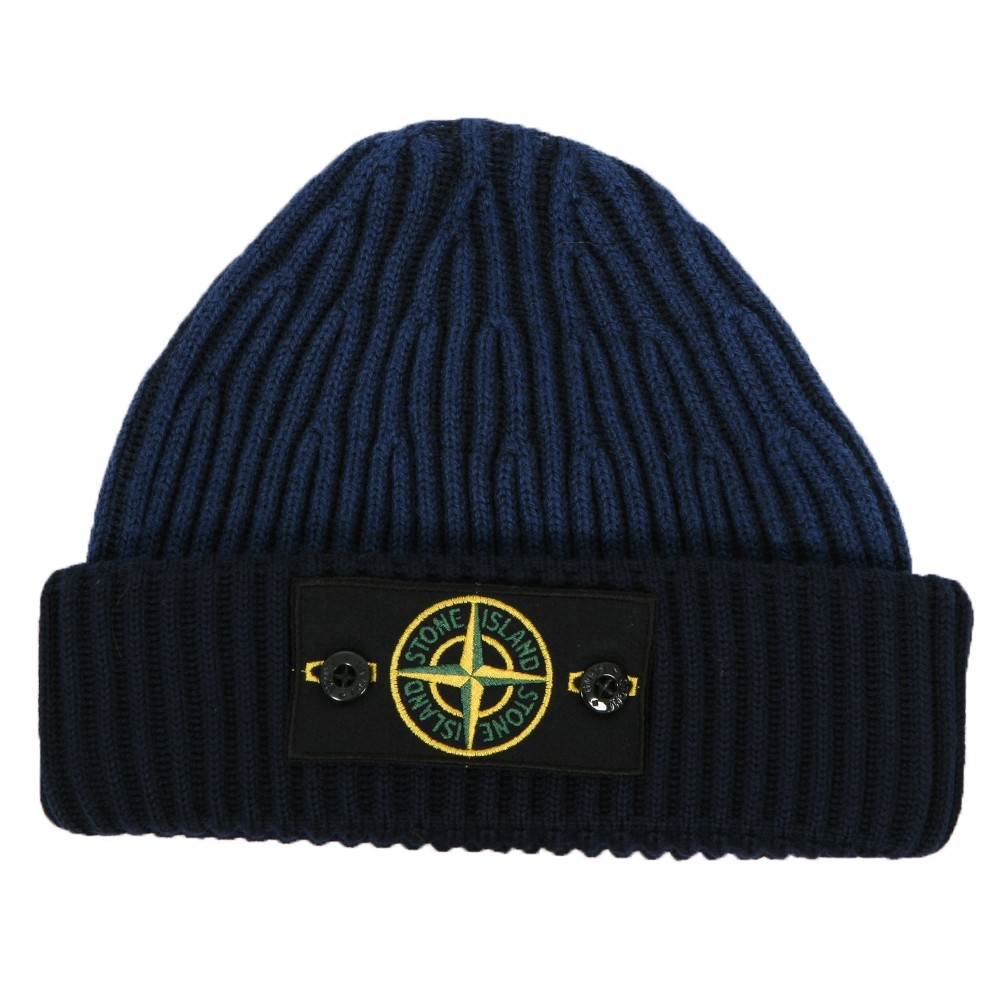 Stone Island Button Badge Hat Oxygen Clothing