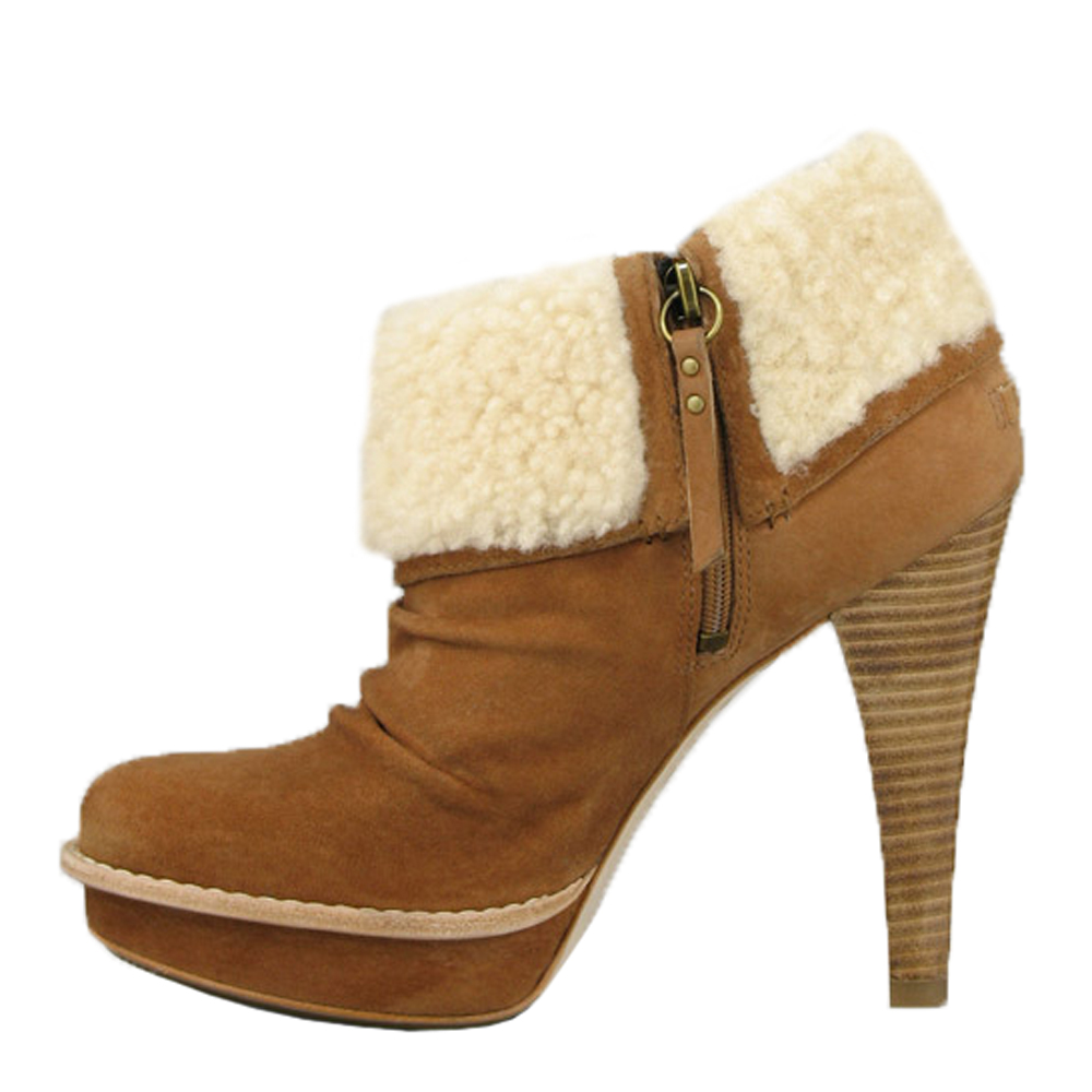 21e5dcabe24 Womens Brown Ugg Georgette Ankle Boot