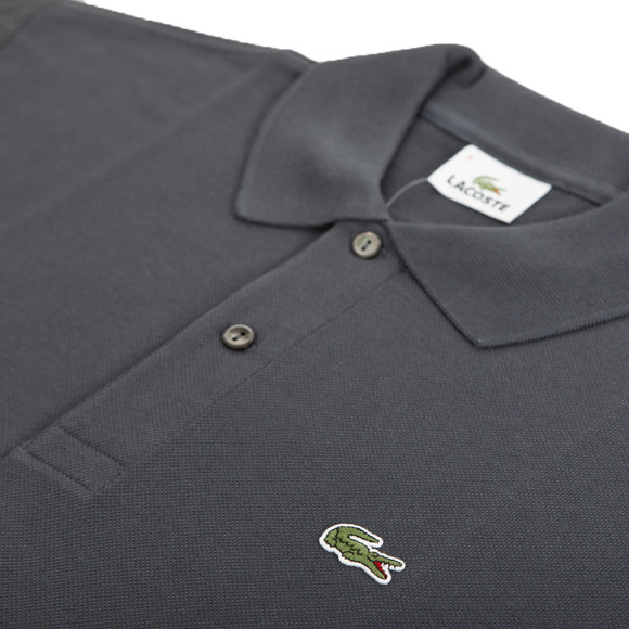 Lacoste Mens Grey S/S Polo Shirt main image
