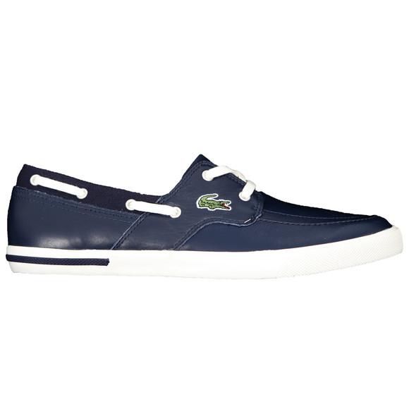 451e36562290 Lacoste Mens Blue Lacoste Newton Boat CI SPM Shoe