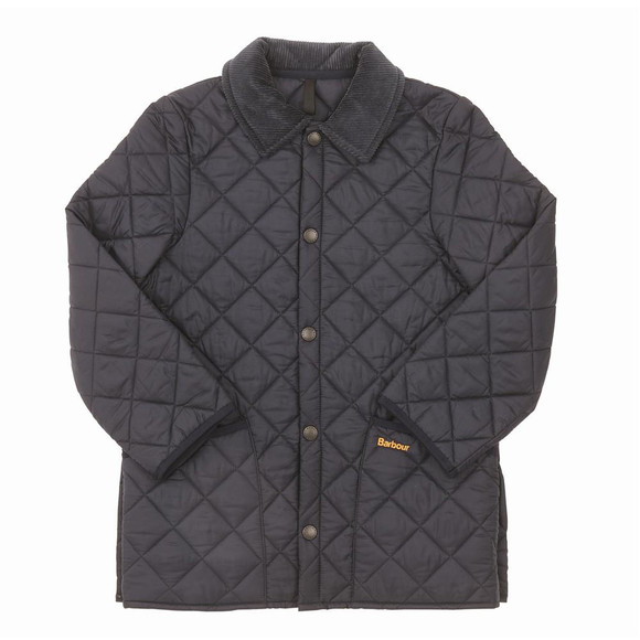 Barbour AW12 Boys Blue Barbour Childrens Liddesdale Quilt main image