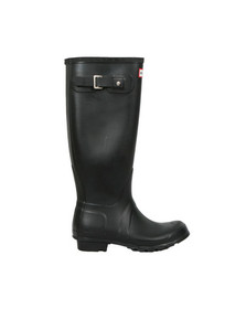 Hunter Mens Black Original Tall Wellington
