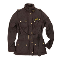Barbour Quilted International Waxed Jacket