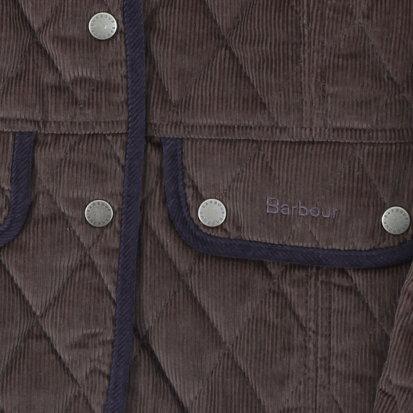 Barbour vintage cord quilted jacket