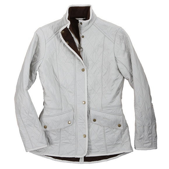 Barbour Lifestyle Womens Off-white Cavalry Polarquilt. main image