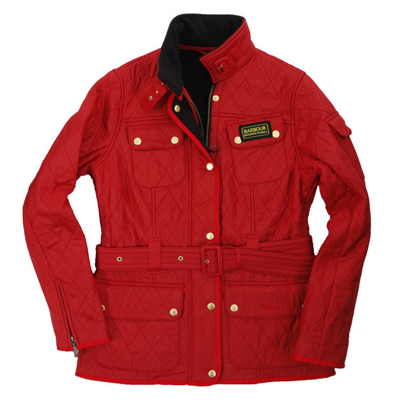 Barbour International Polarquilt Red
