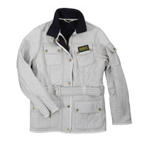 Barbour International Pearl Navy Polarquilt