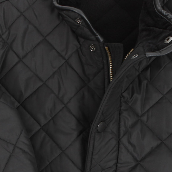 Barbour Lifestyle Mens Black Powell Quilted Jacket main image