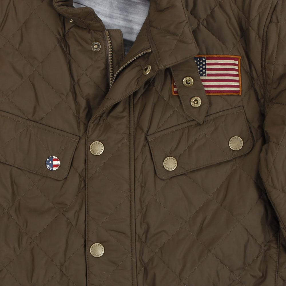 Barbour Int. Steve McQueen Barbour Steve McQueen Jefferies Olive ... : steve mcqueen quilted jacket - Adamdwight.com