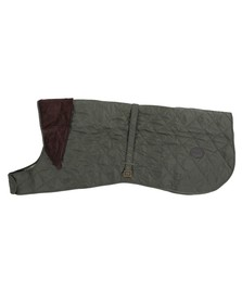 Barbour Dog Mens Green Barbour Green Quilted Dog Coat
