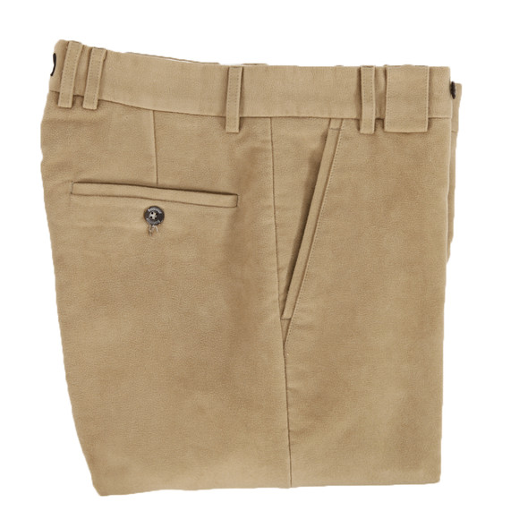 Barbour Sporting  Mens Beige Traditional Fit Moleskin main image