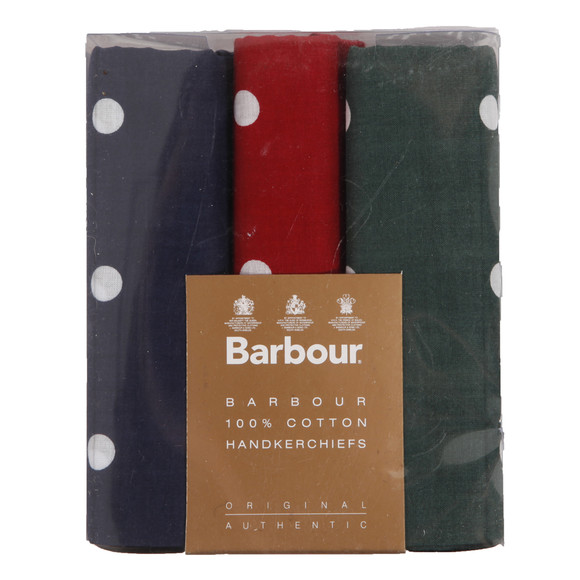 Barbour Lifestyle Mens Multicoloured Spotted Handkerchief main image