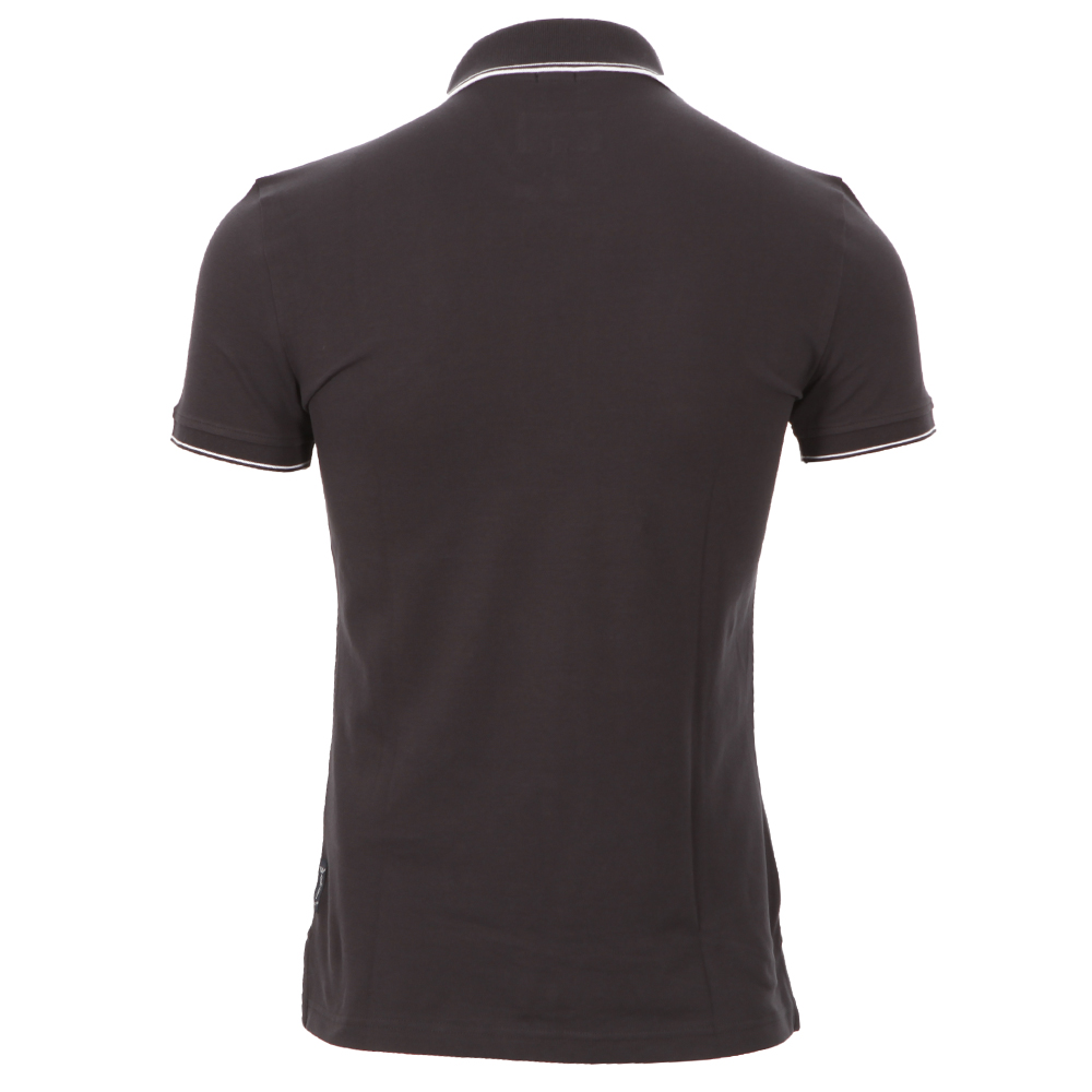 065629ea Armani Jeans 06M30 Dark Navy Twin Tipped Polo | Oxygen Clothing