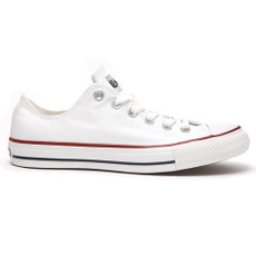 converse all star ox trainers in white