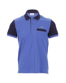 Lacoste Mens Blue Lacoste PH3012 Obscurite Polo Shirt