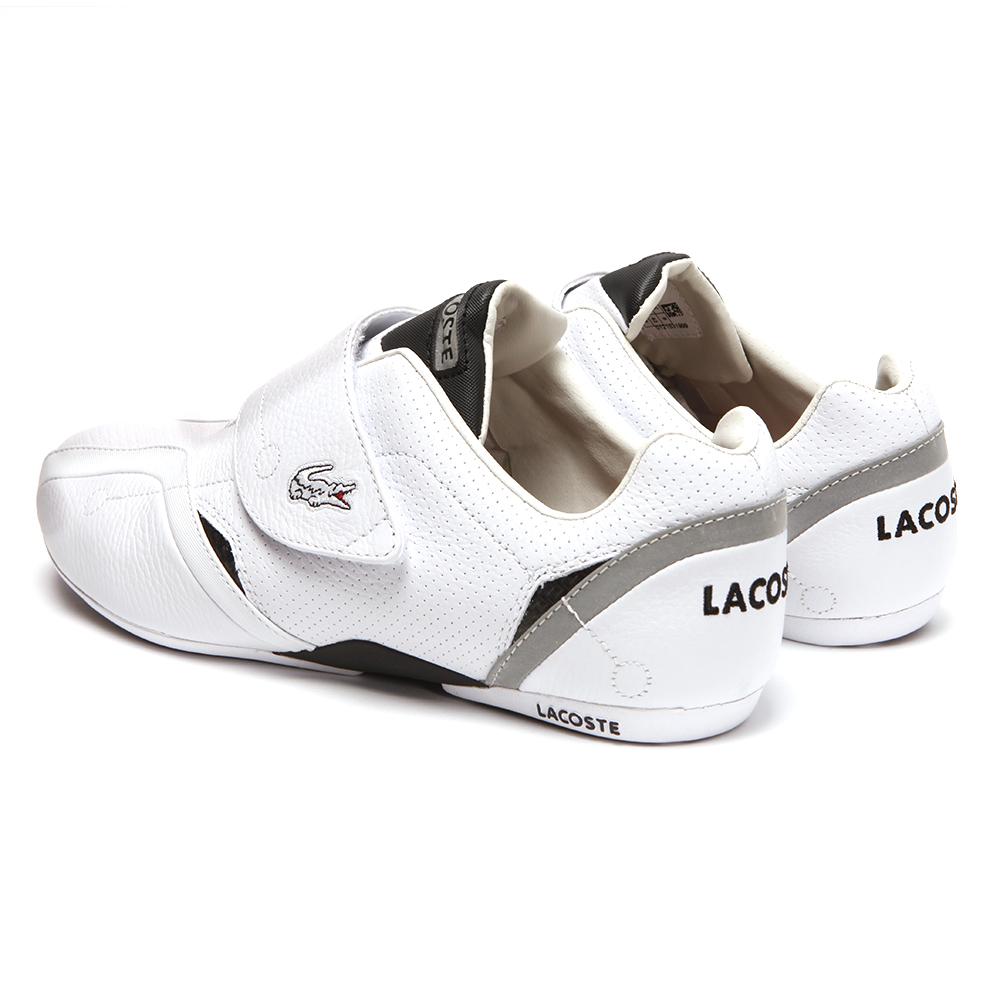 97d93d2a2c9208 Lacoste Protect PIT SPM White Black Trainer main image
