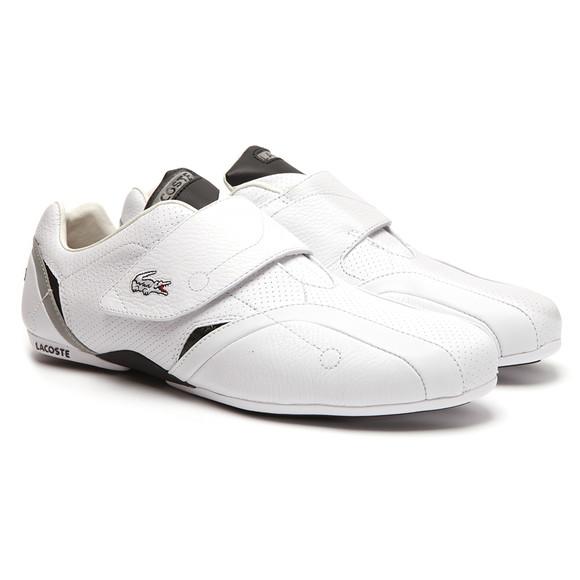 b09dde55523f47 Lacoste Mens White Lacoste Protect PIT SPM White Black Trainer main image