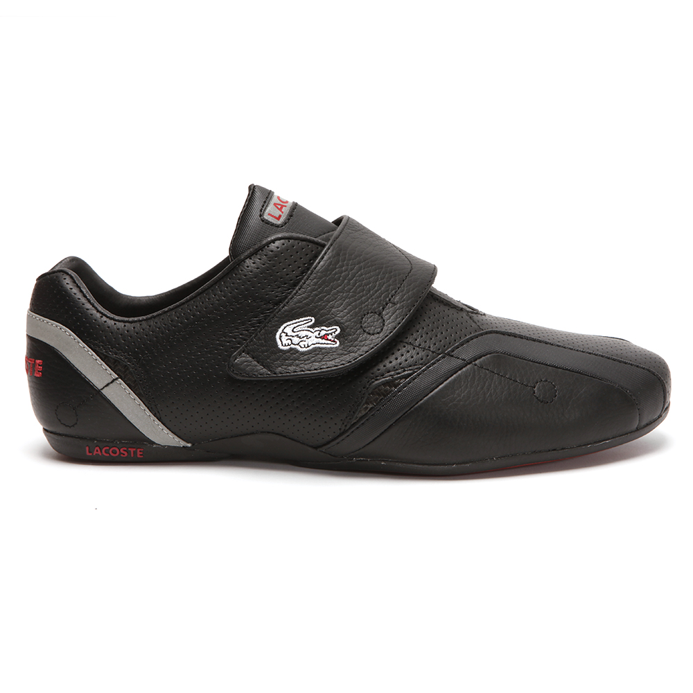 007ad93c34bdd6 Lacoste Protect PIT SPM Black Red Trainer