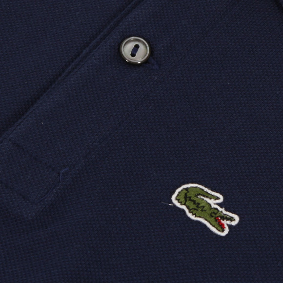 Lacoste Boys Blue Lacoste L1812 Plain Polo main image