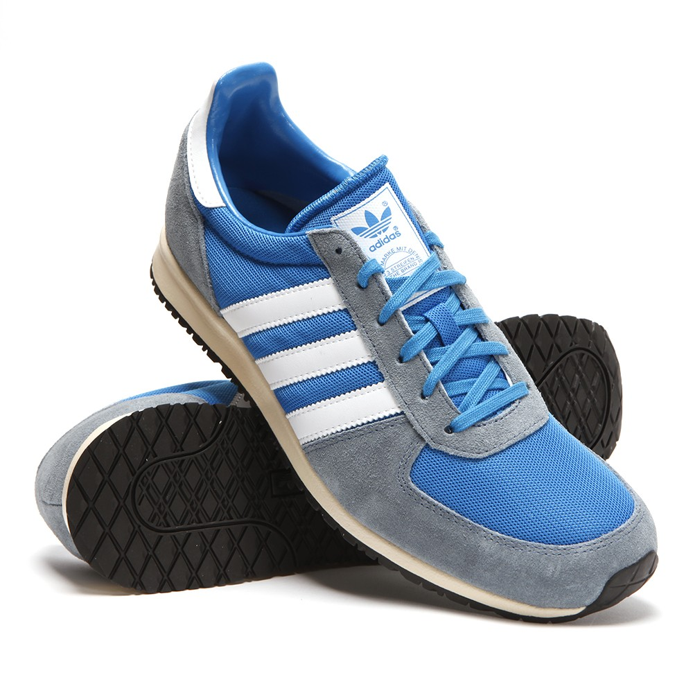 Mens Blue Adidas Adistar Racer Pool Trainer