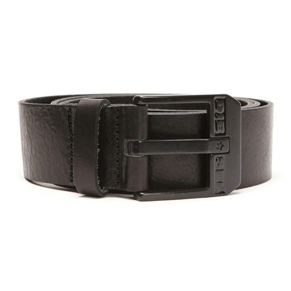 Diesel Mens Black Diesel Bluestar Belt main image