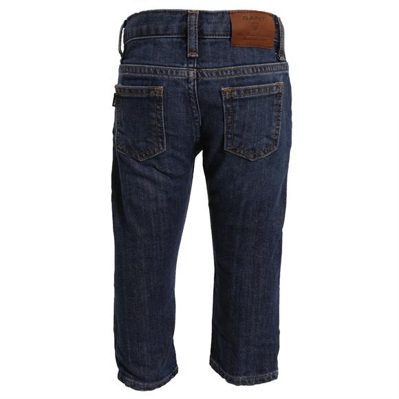 Gant Boys Blue Gant Boys M.M. 5 Pocket Jean main image