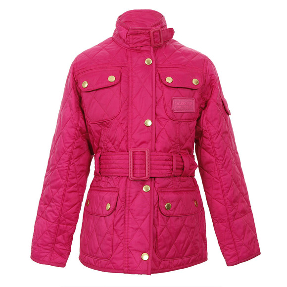 69b461a53 Barbour Lifestyle Girls Pink Barbour Hello Kitty Flyweight International  Quilt