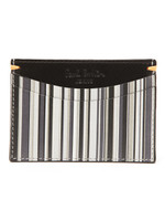 Grey Stripe Card Holder